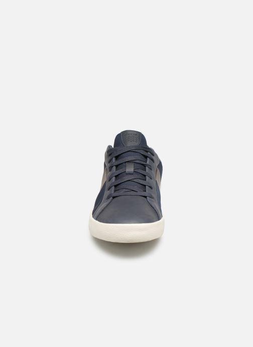 Baskets Geox U WARLEY B U926HB Bleu vue portées chaussures