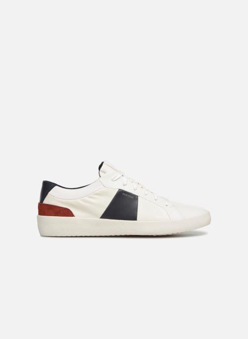 Sneakers Geox U WARLEY B U926HB Wit achterkant
