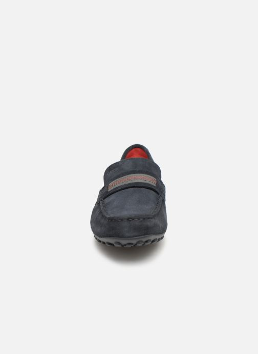 Slipper Geox U SNAKE C U9207C blau schuhe getragen