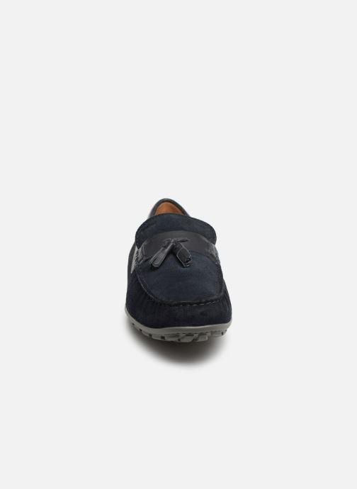 Mocassins Geox U MONER A U9244A Bleu vue portées chaussures