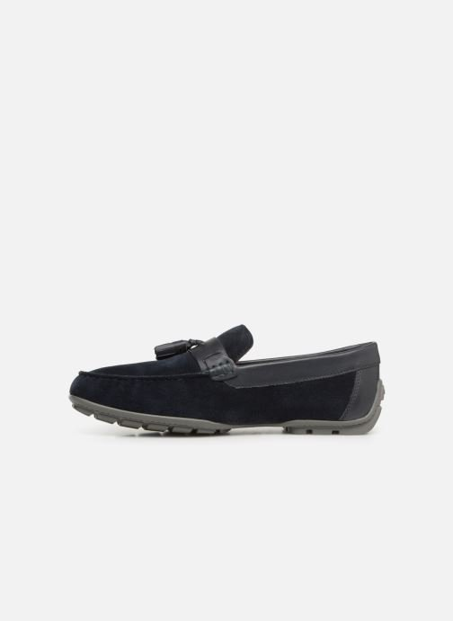 Loafers Geox U MONER A U9244A Blue front view