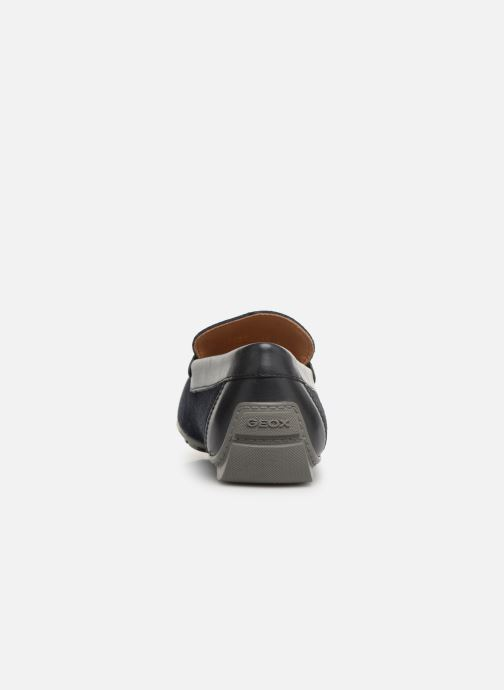 Loafers Geox U MONER A U9244A Blue view from the right