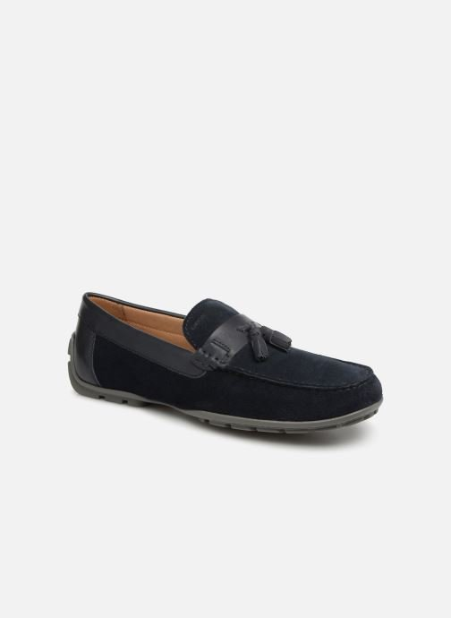 Loafers Geox U MONER A U9244A Blue detailed view/ Pair view
