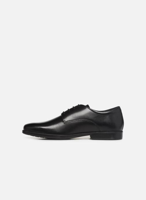 Chaussures à lacets Geox U CALGARY B U926SB Noir vue face