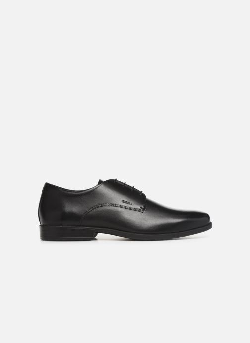 Lace-up shoes Geox U CALGARY B U926SB Black back view