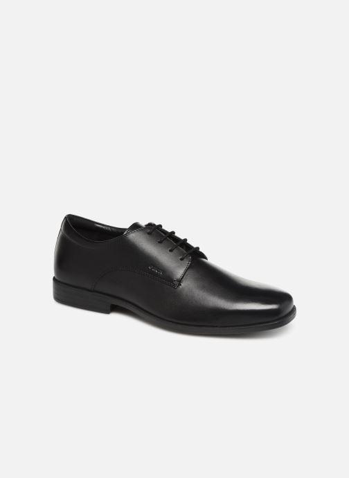 Lace-up shoes Geox U CALGARY B U926SB Black detailed view/ Pair view