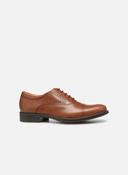 Lace-up shoes Geox U CARNABY A U92W1A Brown back view