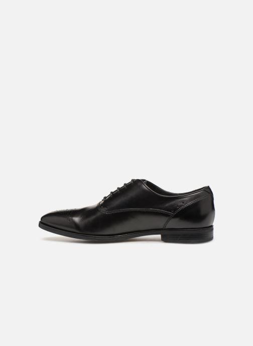 Zapatos con cordones Geox U NEW LIFE C U92P4C Negro vista de frente