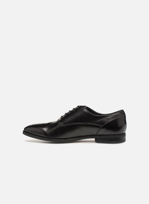 Lace-up shoes Geox U NEW LIFE C U92P4C Black front view