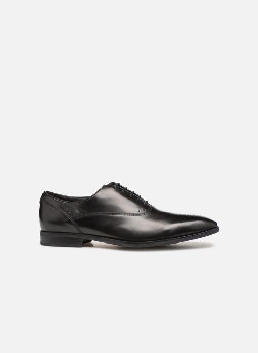Lace-up shoes Geox U NEW LIFE C U92P4C Black back view