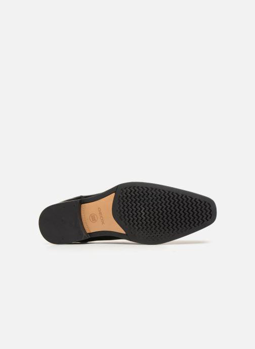 Chaussures à lacets Geox U NEW LIFE C U92P4C Noir vue haut