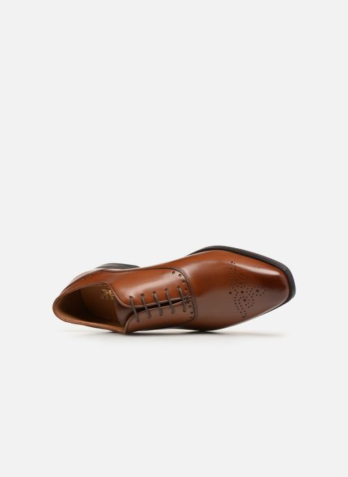 Chaussures à lacets Geox U NEW LIFE C U92P4C Marron vue gauche