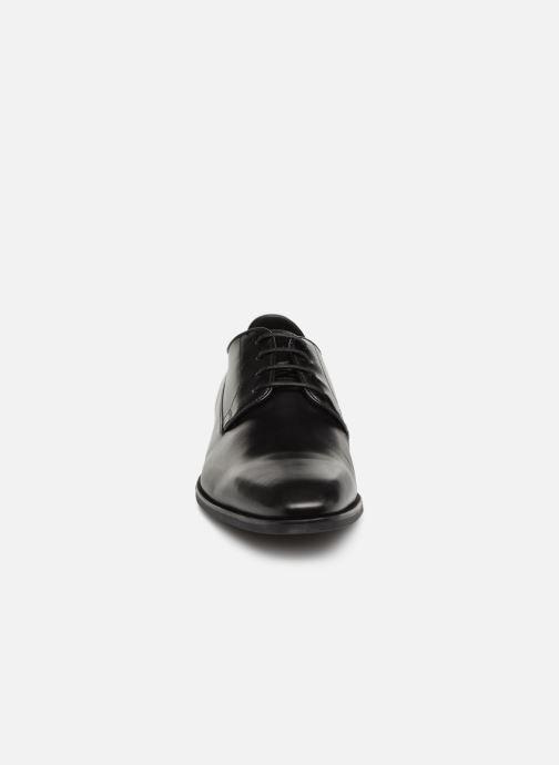 Chaussures à lacets Geox U NEW LIFE B U92P4B Noir vue portées chaussures