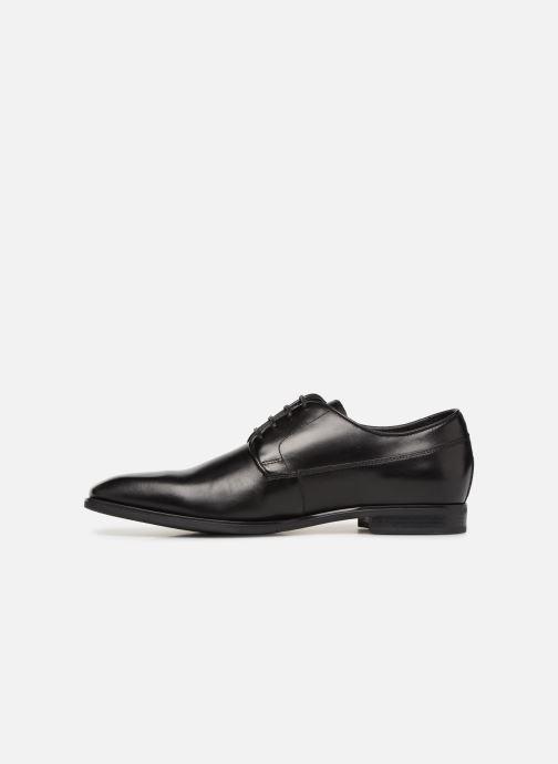Chaussures à lacets Geox U NEW LIFE B U92P4B Noir vue face