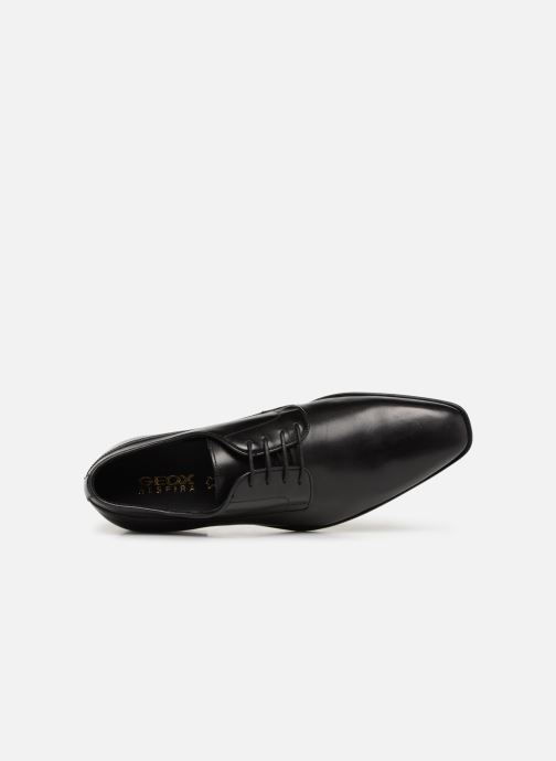 Zapatos con cordones Geox U NEW LIFE B U92P4B Negro vista lateral izquierda