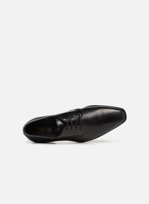 Chaussures à lacets Geox U NEW LIFE B U92P4B Noir vue gauche