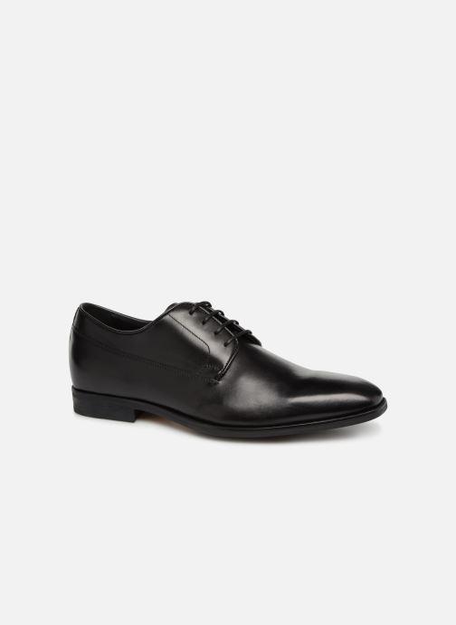 Chaussures à lacets Geox U NEW LIFE B U92P4B Noir vue détail/paire