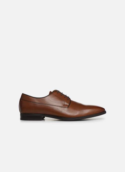 Lace-up shoes Geox U NEW LIFE B U92P4B Brown back view