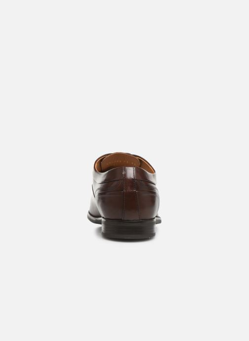 Lace-up shoes Geox U NEW LIFE B U92P4B Brown view from the right