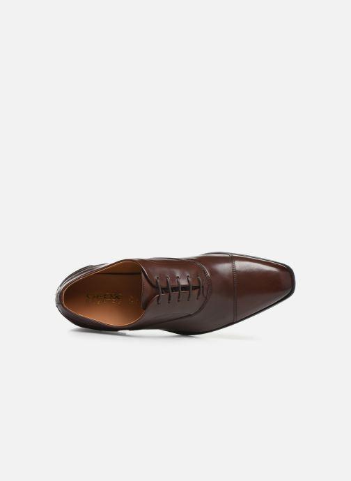 Zapatos con cordones Geox U NEW LIFE B U92P4B Marrón vista lateral izquierda