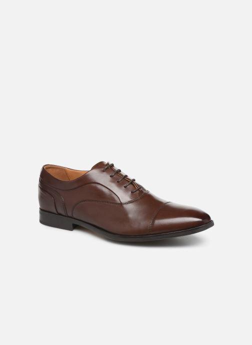 Zapatos con cordones Geox U NEW LIFE B U92P4B Marrón vista de detalle / par