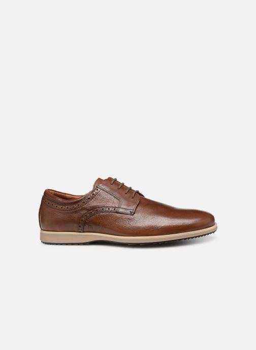 Lace-up shoes Geox U BLAINEY B U926QB Brown back view