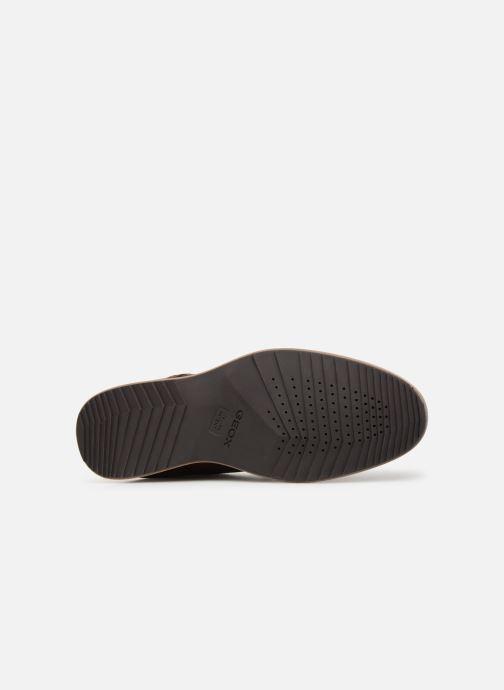 Zapatos con cordones Geox U BLAINEY B U926QB Marrón vista de arriba