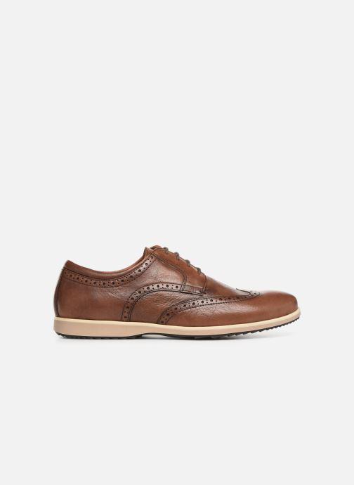 Lace-up shoes Geox U BLAINEY A U926QA Brown back view