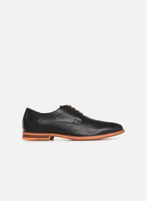 Chaussures à lacets Geox U BAYLE B U927CB Noir vue derrière