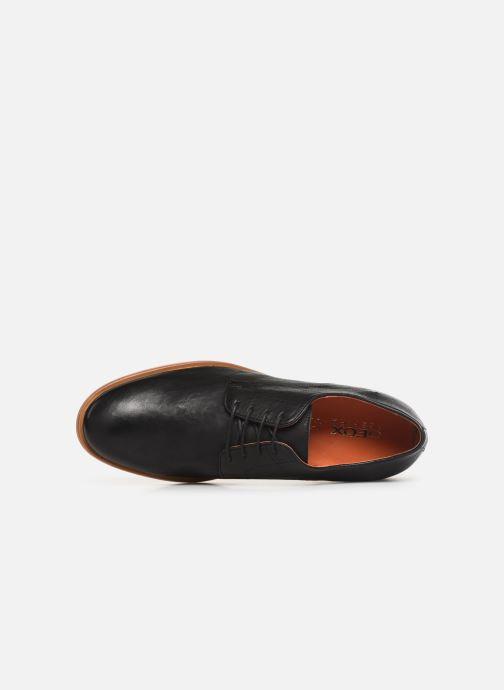 Chaussures à lacets Geox U BAYLE B U927CB Noir vue gauche