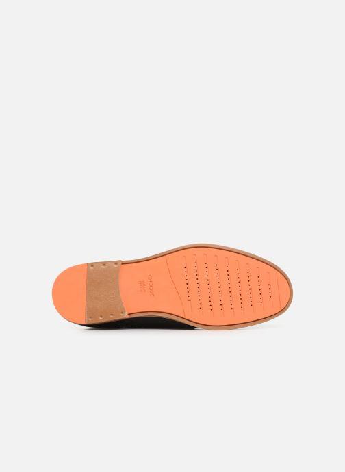 Chaussures à lacets Geox U BAYLE B U927CB Noir vue haut