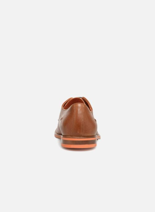 Lace-up shoes Geox U BAYLE B U927CB Brown view from the right