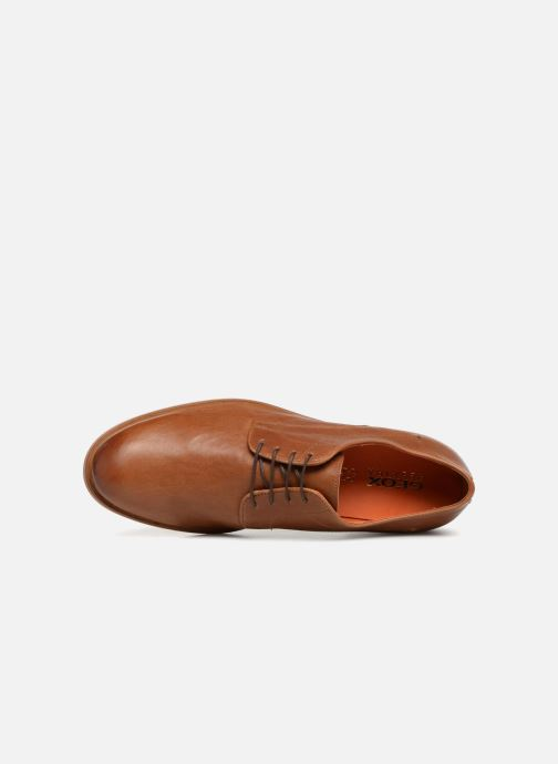 Lace-up shoes Geox U BAYLE B U927CB Brown view from the left
