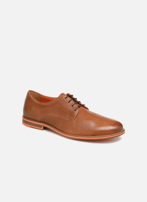 Lace-up shoes Geox U BAYLE B U927CB Brown detailed view/ Pair view