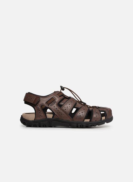 Sandales et nu-pieds Geox U STRADA B U6224B Marron vue derrière