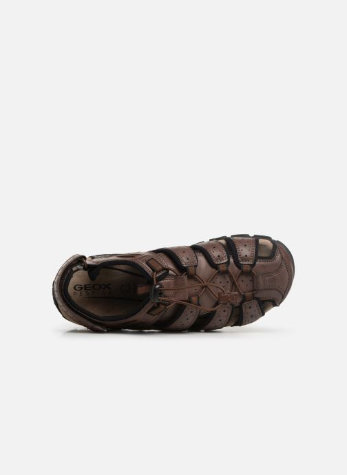Sandales et nu-pieds Geox U STRADA B U6224B Marron vue gauche