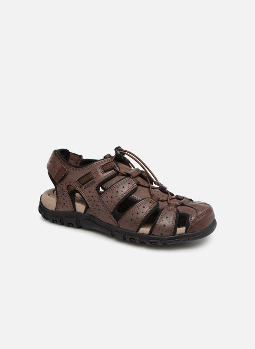 Sandales et nu-pieds Geox U STRADA B U6224B Marron vue détail/paire