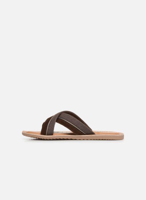 Geox U ARTIE C U92V1F (Marron) Sandales et nu pieds chez