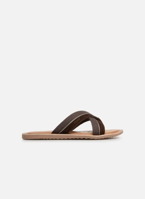 Sandals Geox U ARTIE C U92V1F Brown back view