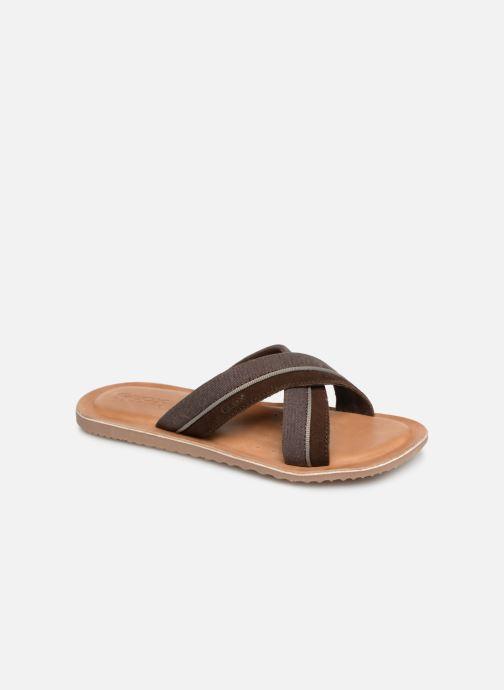 Sandales et nu-pieds Geox U ARTIE C U92V1F Marron vue détail/paire
