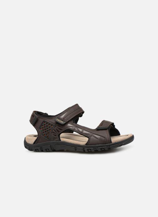 Sandales et nu-pieds Geox U STRADA C U9224C Marron vue derrière