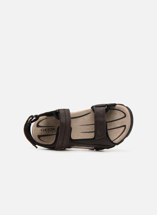 Sandales et nu-pieds Geox U STRADA C U9224C Marron vue gauche