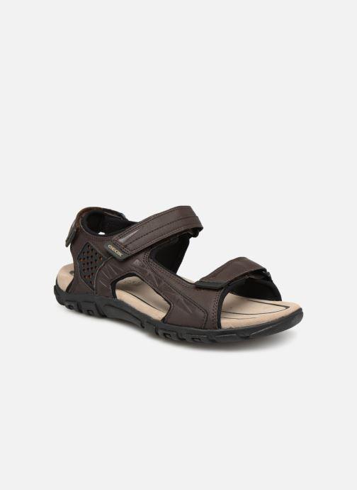 Sandales et nu-pieds Geox U STRADA C U9224C Marron vue détail/paire