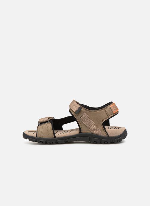 Sandalen Geox U STRADA B U9224B Beige voorkant