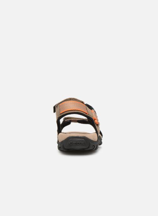 Sandalen Geox U STRADA B U9224B Beige rechts