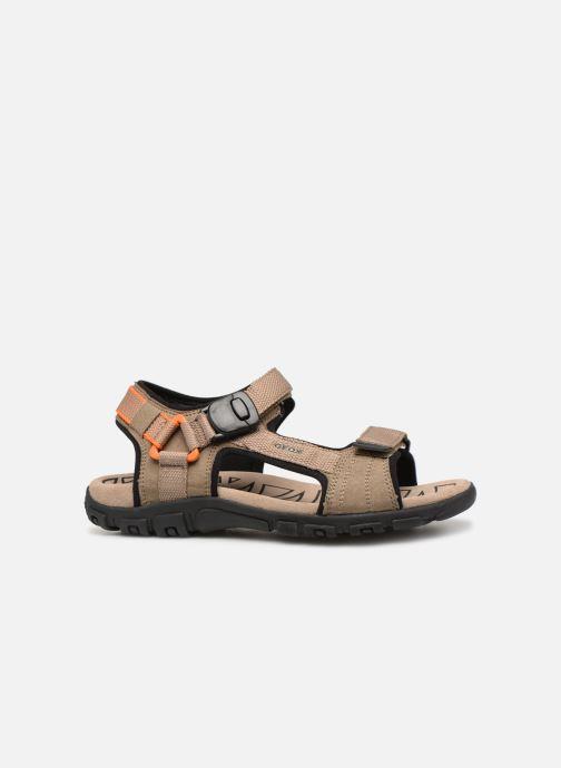 Sandalen Geox U STRADA B U9224B Beige achterkant