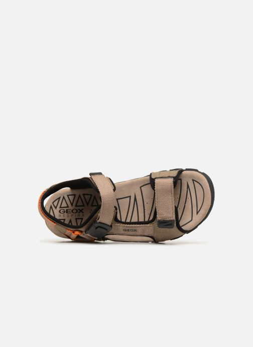 Sandalen Geox U STRADA B U9224B Beige links