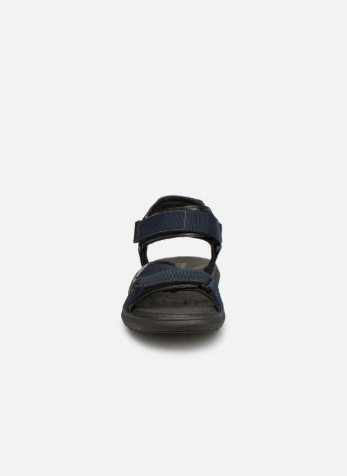 Sandales et nu-pieds Geox U GOINWAY B U926VB Noir vue portées chaussures
