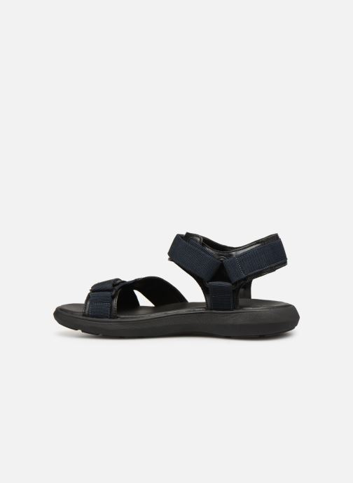 Sandales et nu-pieds Geox U GOINWAY B U926VB Noir vue face