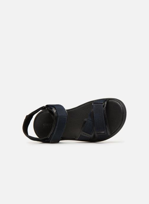 Sandales et nu-pieds Geox U GOINWAY B U926VB Noir vue gauche